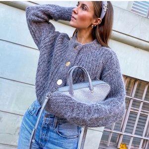 NWOT H&M Chunky-Knit Wool Cardigan